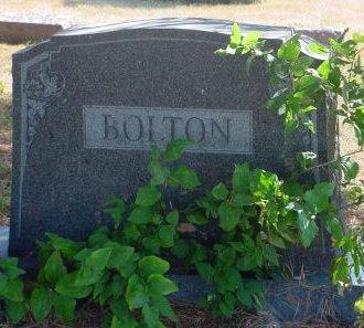 BOLTON, AARON W - Pottawattamie County, Iowa   AARON W BOLTON