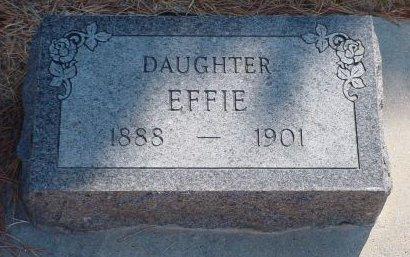 BOLTON, EFFIE - Pottawattamie County, Iowa | EFFIE BOLTON