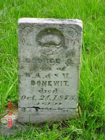 BONEWIT, GEORGE B. - Pottawattamie County, Iowa | GEORGE B. BONEWIT