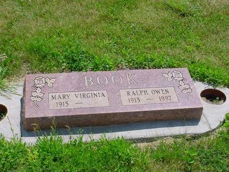 BOOK, MARY VIRGINIA - Pottawattamie County, Iowa | MARY VIRGINIA BOOK