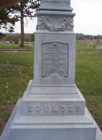 BOULDEN, MARY - Pottawattamie County, Iowa | MARY BOULDEN