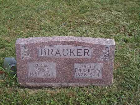 BRACKER, FREDERICK W. - Pottawattamie County, Iowa | FREDERICK W. BRACKER