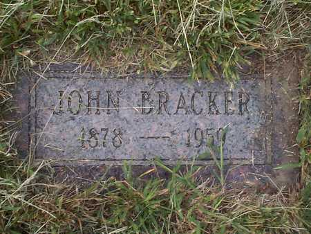 BRACKER, JOHN - Pottawattamie County, Iowa | JOHN BRACKER
