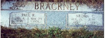 BRACKNEY, NEOMA C. - Pottawattamie County, Iowa | NEOMA C. BRACKNEY