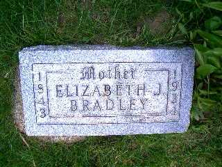 BRADLEY, ELIZABETH - Pottawattamie County, Iowa   ELIZABETH BRADLEY