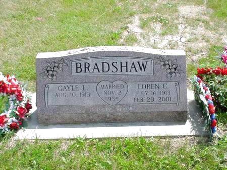 BRADSHAW, LOREN C. - Pottawattamie County, Iowa | LOREN C. BRADSHAW