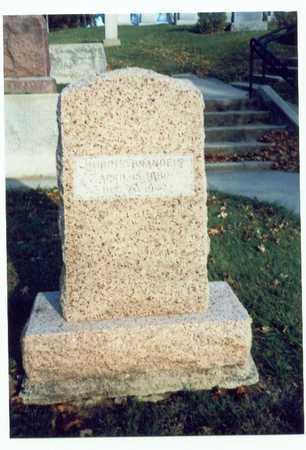 BRANDEIS, MORRIS - Pottawattamie County, Iowa   MORRIS BRANDEIS