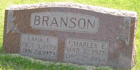 BRANSON, LANA E - Pottawattamie County, Iowa   LANA E BRANSON