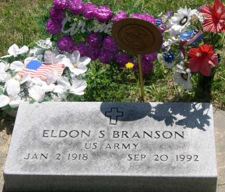 BRANSON, ELDON S. - Pottawattamie County, Iowa | ELDON S. BRANSON