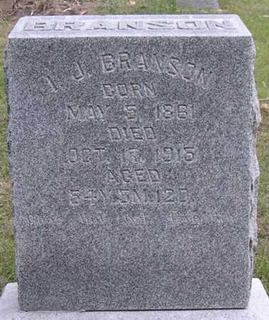 BRANSON, I. J. - Pottawattamie County, Iowa | I. J. BRANSON