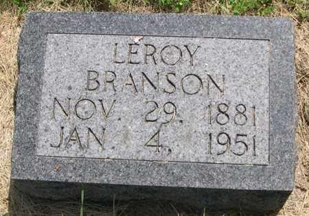 BRANSON, LEROY - Pottawattamie County, Iowa | LEROY BRANSON