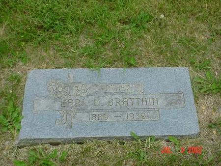 BRATTAIN, EARL D. - Pottawattamie County, Iowa | EARL D. BRATTAIN