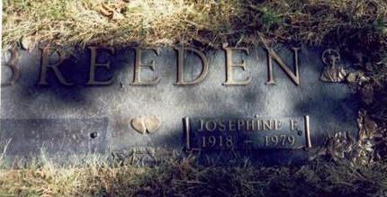 BREEDEN, JOSEPHINE F. - Pottawattamie County, Iowa | JOSEPHINE F. BREEDEN