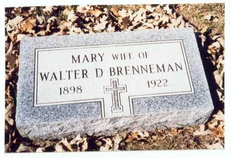 BRENNEMAN, MARY - Pottawattamie County, Iowa | MARY BRENNEMAN