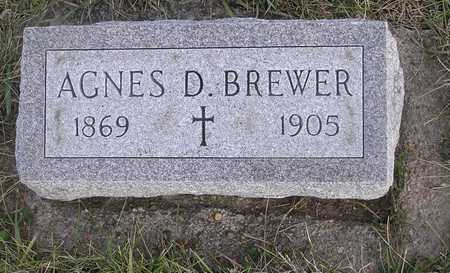 BREWER, AGNES D - Pottawattamie County, Iowa | AGNES D BREWER