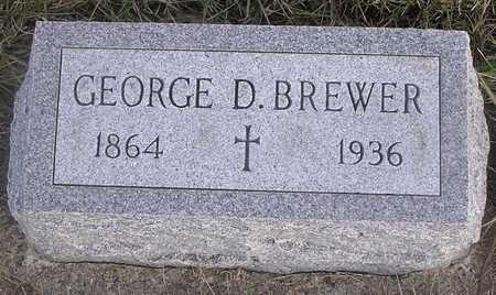 BREWER, GEORGE D - Pottawattamie County, Iowa | GEORGE D BREWER
