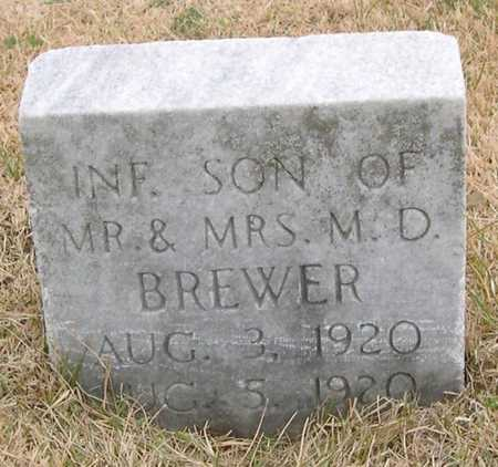 BREWER, INFANT SON - Pottawattamie County, Iowa | INFANT SON BREWER