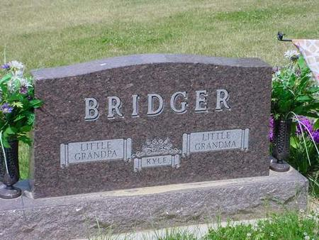 BRIDGER, GARY - Pottawattamie County, Iowa | GARY BRIDGER