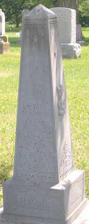 BROWN, MARY L. - Pottawattamie County, Iowa   MARY L. BROWN