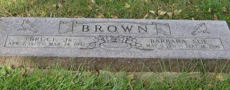 BROWN, BARBARA SUE - Pottawattamie County, Iowa | BARBARA SUE BROWN
