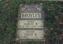 BROYLES, HAROLD M. - Pottawattamie County, Iowa | HAROLD M. BROYLES