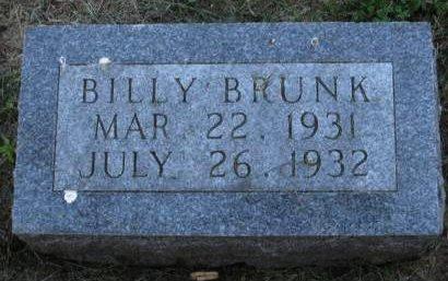 BRUNK, BILLY - Pottawattamie County, Iowa | BILLY BRUNK