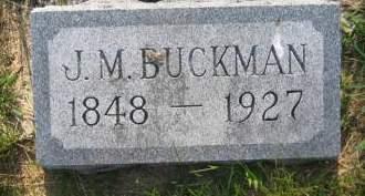 BUCKMAN, J. M. - Pottawattamie County, Iowa | J. M. BUCKMAN