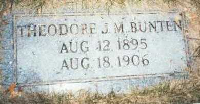 BUNTEN, THEODORE J.M. - Pottawattamie County, Iowa | THEODORE J.M. BUNTEN