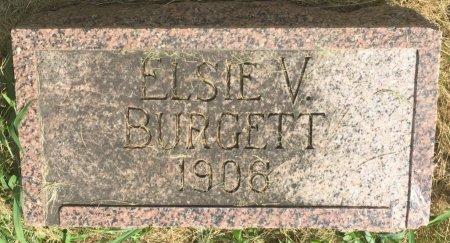 BURGETT, ELSIE V - Pottawattamie County, Iowa | ELSIE V BURGETT
