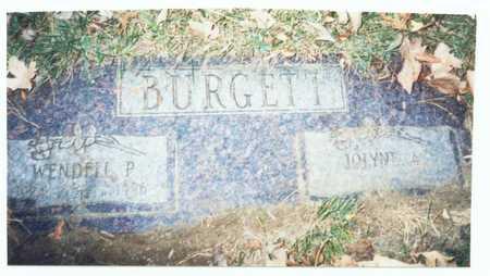 BURGETT, WENDELL P. - Pottawattamie County, Iowa   WENDELL P. BURGETT