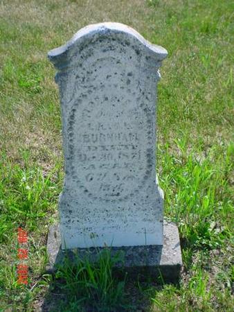 BURNHAM, FLORENCE M. - Pottawattamie County, Iowa | FLORENCE M. BURNHAM