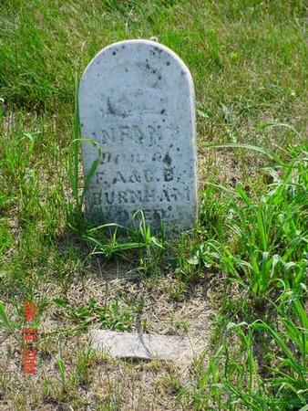 BURNHAM, INFANT DAU - Pottawattamie County, Iowa | INFANT DAU BURNHAM