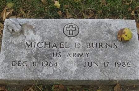 BURNS, MICHAEL D. - Pottawattamie County, Iowa   MICHAEL D. BURNS