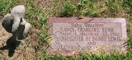 BURR, NANCY FRANCINE - Pottawattamie County, Iowa | NANCY FRANCINE BURR