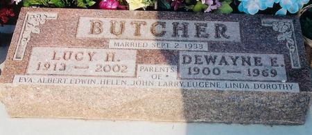 BUTCHER, DEWAYNE - Pottawattamie County, Iowa | DEWAYNE BUTCHER
