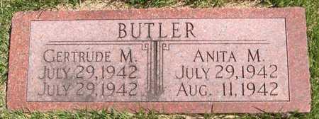 BUTLER, ANITA M - Pottawattamie County, Iowa   ANITA M BUTLER