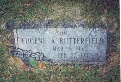 BUTTERFIELD, EUGENE ALFRED - Pottawattamie County, Iowa | EUGENE ALFRED BUTTERFIELD