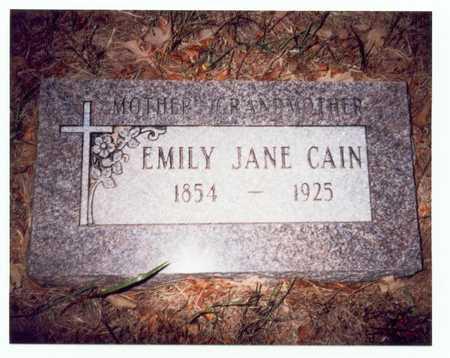 CAIN, EMILY JANE - Pottawattamie County, Iowa | EMILY JANE CAIN