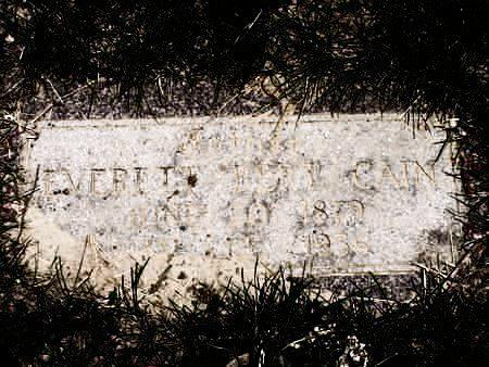 CAIN, EVERETT B. - Pottawattamie County, Iowa | EVERETT B. CAIN