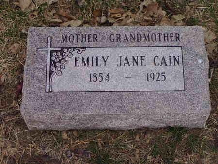 KELLER CAIN, EMILY JANE - Pottawattamie County, Iowa | EMILY JANE KELLER CAIN