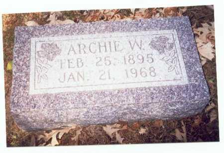 CAMPBELL, ARCHIE W. - Pottawattamie County, Iowa | ARCHIE W. CAMPBELL