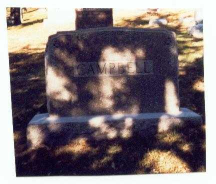 CAMPBELL, FAMILY MARKER - Pottawattamie County, Iowa | FAMILY MARKER CAMPBELL