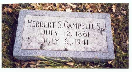 CAMPBELL, HERBERT S. SR. - Pottawattamie County, Iowa | HERBERT S. SR. CAMPBELL