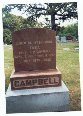 CAMPBELL, JOHN M. - Pottawattamie County, Iowa | JOHN M. CAMPBELL