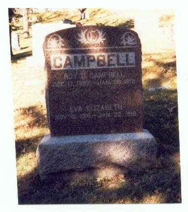 CAMPBELL, EVA ELIZABETH - Pottawattamie County, Iowa | EVA ELIZABETH CAMPBELL