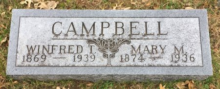 MILLER CAMPBELL, MARY M - Pottawattamie County, Iowa | MARY M MILLER CAMPBELL