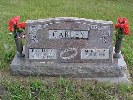 CARLEY, PHYLLIS - Pottawattamie County, Iowa | PHYLLIS CARLEY