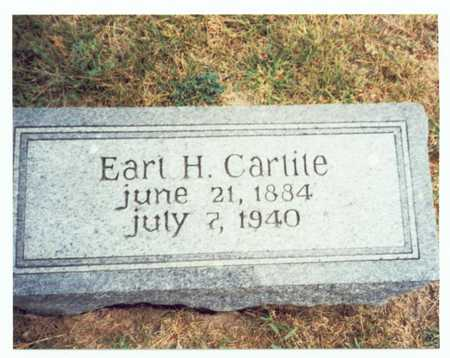 CARLILE, EARL H. - Pottawattamie County, Iowa   EARL H. CARLILE