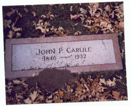 CARLILE, JOHN PRIEST - Pottawattamie County, Iowa | JOHN PRIEST CARLILE