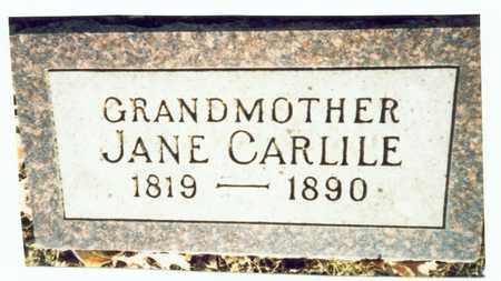 CARLILE, JANE - Pottawattamie County, Iowa | JANE CARLILE